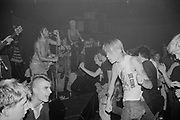 Peter and the Test Tube Babies playing at AD LIB club London, UK, 1980s