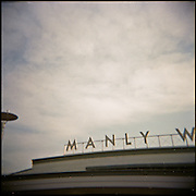 Picture taken with a Holga. Manly Beach.