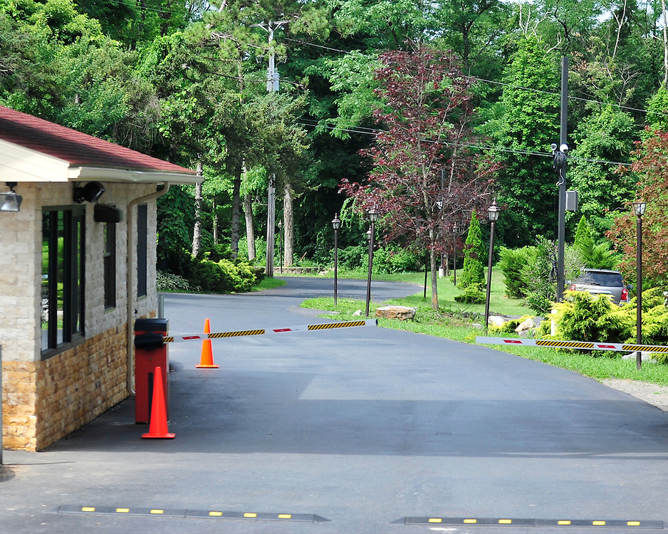 Entrance to Fetullah Gulen's Pocono Mountain compound Saturday, July 16th, 2016 in Saylorsburg, Pennsylvania.