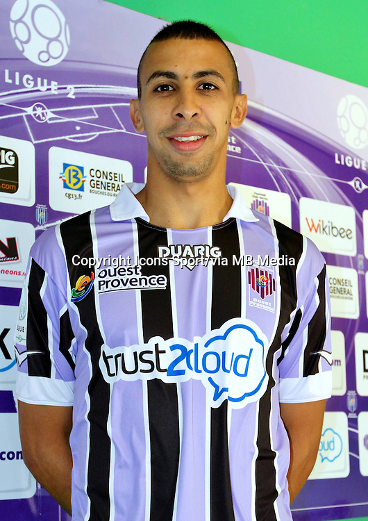 Fouad CHAFIK - 17.09.2013 - Photo Officielle Istres - Ligue 2<br /> Photo : Icon Sport