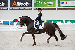 Helen Langehanenberg, (GER), Damon Hill NRW - Grand Prix Team Competition Dressage - Alltech FEI World Equestrian Games™ 2014 - Normandy, France.<br /> © Hippo Foto Team - Leanjo de Koster<br /> 25/06/14