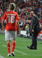 20100401: LISBON, PORTUGAL - SL Benfica vs Liverpool: Europa League 2009/2010 - Quarter-Finals - 1st leg. In picture: Rafael Benitez Maudes (Liverpool's Coach). PHOTO: Alvaro Isidoro/CITYFILES