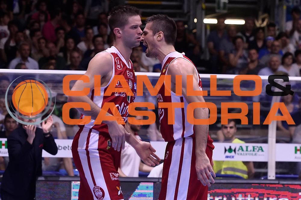 Cinciarini Andrea<br /> Betaland Capo D'Orlando - EA7 Emporio Armani Olimpia Milano<br /> Playoff Gara 4<br /> Lega Basket 2016/2017<br /> Capo D'Orlando 18/05/2017<br /> Foto Ciamillo-Castoria