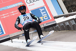 February 8, 2019 - Ljubno, Savinjska, Slovenia - Yuki Ito of Japan on first competition day of the FIS Ski Jumping World Cup Ladies Ljubno on February 8, 2019 in Ljubno, Slovenia. (Credit Image: © Rok Rakun/Pacific Press via ZUMA Wire)