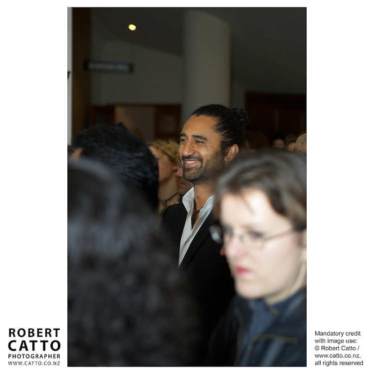 Cliff Curtis at the Premiere of short film Tama Tu at the Embassy Theatre, Wellington, New Zealand.<br />