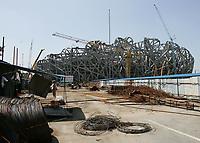 Das in Bau befindlichen Olympia Stadion. © Urs Bucher/EQ Images