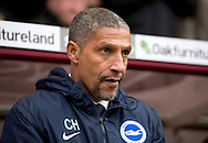 Brighton and Hove Albion manager Chris Hughton before the Sky Bet Championship match at Turf Moor, Burnley<br /> Picture by Russell Hart/Focus Images Ltd 07791 688 420<br /> 22/11/2015