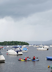 Views of Balmaha, Loch Lomond, Scotland, 31st July 2016<br /> <br /> The bay at Balmaha on Loch Lomond<br /> <br /> (c) Alex Todd | Edinburgh Elite media