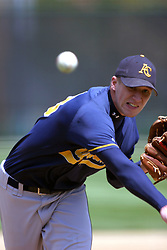 22 April 2006:  ....Viking pitcher Kevin Kuntz....In CCIW, Division 3 action, the Titans of Illinois Wesleyan capped the Auggies of Augustana College by a scor of 3-2 in game one of a double card afternoon.  Games were held at Jack Horenberger field on the campus of Illinois Wesleyan University in Bloomington, Illinois