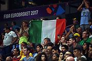 tifosi <br /> Nazionale Italiana Maschile Senior<br /> Eurobasket 2017 - Group Phase<br /> Lituania Italia Lithuania Italy<br /> FIP 2017<br /> Tel Aviv, 03/09/2017<br /> Foto M.Ceretti / Ciamillo - Castoria