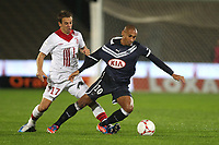 FOOTBALL - FRENCH CHAMPIONSHIP 2012/2013 - L1 - GIRONDINS BORDEAUX v LILLE OSC  - 19/10/2012 - PHOTO MANUEL BLONDEAU / DPPI - JUSSIE