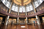 Hall of Fame Rotunda of the Country Music Hall of Fame in Nashville, TN.