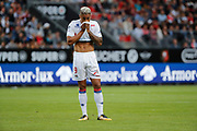 Mariano DIAZ MEJIA (Olympique Lyonnais) missed it goal during the French championship L1 football match between Rennes v Lyon, on August 11, 2017 at Roazhon Park stadium in Rennes, France - Photo Stephane Allaman / ProSportsImages / DPPI