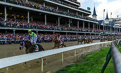 Always Dreaming with John R. Velazquez, right, up wins the 143rd running of the Kentucky Derby at Churchill Downs May 6, 2017.