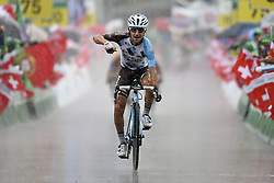 June 15, 2017 - Locarno / La Punt, Suisse - POZZOVIVO Domenico (ITA) Rider of Team AG2R La Mondiale during stage 6 of the Tour de Suisse cycling race, a stage of 166 kms between Locarno and La Punt on June 15, 2017 in La Punt, Switserland, 15/06/2017 (Credit Image: © Panoramic via ZUMA Press)