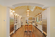 Home designed by architect Peter Cook, on Georgica Road, East Hampton, NY