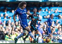 Football - 2016 / 2017 Premier League - Chelsea vs. West Bromwich Albion<br /> <br /> David Luiz of Chelsea at Stamford Bridge.<br /> <br /> COLORSPORT/DANIEL BEARHAM