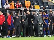 STOCKHOLM, 2017-05-24: Zlatan Ibrahimović under UEFA Europa League Finalen mellan Ajax och Manchester United p&aring; Friends Arena den 24,maj 2017 i Stockholm, Sverige.  Foto: Nils Petter Nilsson/Ombrello<br />***BETALBILD***