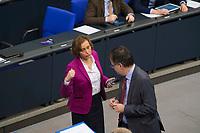 DEU, Deutschland, Germany, Berlin, 13.12.2017: Beatrix von Storch und Jürgen Braun (AfD, Alternative für Deutschland) bei einer Plenarsitzung im Deutschen Bundestag.