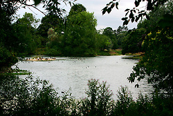 UK ENGLAND HAMPSHIRE ST MARY BOURNE 12AUG06 - Detail of the village lake in St. Mary Bourne, built by the Evans family to preserve fish stocks in the river Bourne...jre/Photo by Jiri Rezac..© Jiri Rezac 2006..Contact: +44 (0) 7050 110 417.Mobile:  +44 (0) 7801 337 683.Office:  +44 (0) 20 8968 9635..Email:   jiri@jirirezac.com.Web:    www.jirirezac.com..© All images Jiri Rezac 2006 - All rights reserved.