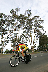 (Geelong, Australia---30 September 2010) Ignatas KONOVALOVAS of Lithuania (LTU) racing to 12th place in the Elite Men's Time Trial race at the 2010 UCI Road World Championships [2010 Copyright Sean Burges / Mundo Sport Images -- www.mundosportimages.com]