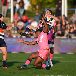 Jonathan DANTY of Stade Francais during the Top 14 match between Agen and Stade Francais on October 19, 2019 in Agen, France. (Photo by Julien Crosnier/Icon Sport) - Jonathan DANTY - Stade Armandie - Agen (France)