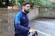 AFC Wimbledon midfielder Anthony Wordsworth (40) arriving during the EFL Sky Bet League 1 match between Southend United and AFC Wimbledon at Roots Hall, Southend, England on 12 October 2019.