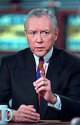 U.S. Senate Judiciary Chairman Orrin Hatch discusses the possible Senate trial of President Clinton following impeachment during NBC's Meet the Press December 20, 1998 in Washington, DC.