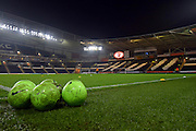 Hull City KC Stadium before the Capital One Cup Fourth Round match between Hull City and Leicester City at the KC Stadium, Kingston upon Hull, England on 27 October 2015. Photo by Ian Lyall.