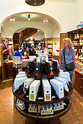 Luxury food on display in the famous Dallmayr food store in Munich, Bavaria, Germany