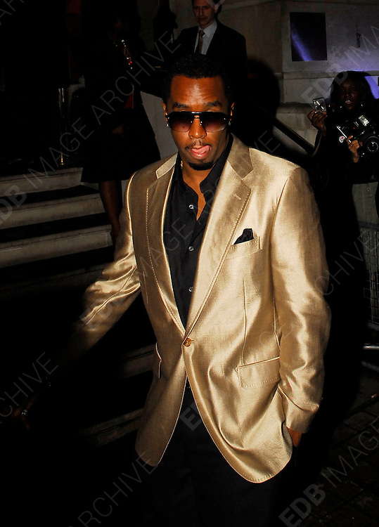 03.07.2007. LONDON<br /> <br /> CELEBRITIES ATTEND PARTY HELD BY P DIDDY AT 50 ST JAMES<br /> <br /> BYLINE: EDBIMAGEARCHIVE.CO.UK<br /> <br /> *THIS IMAGE IS STRICTLY FOR UK NEWSPAPERS AND MAGAZINES ONLY*<br /> *FOR WORLD WIDE SALES AND WEB USE PLEASE CONTACT EDBIMAGEARCHIVE.CO.UK - 0208 954 5968*