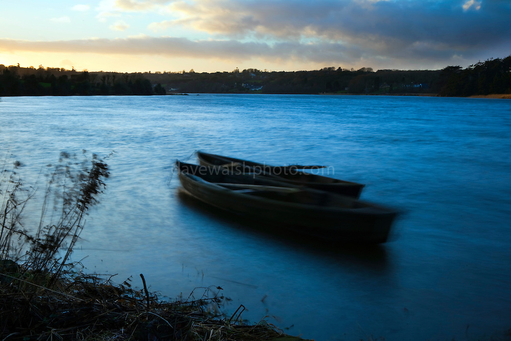 """Windy evening on the the Slaney River, Christmas 2012 This mage can be licensed via Millennium Images. Contact me for more details, or email mail@milim.com For prints, contact me, or click """"add to cart"""" to some standard print options."""
