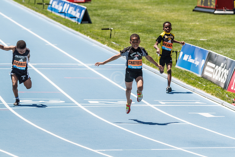 adidas Grand Prix Diamond League Track & Field: Boys Fastest Kid IN NYC, Amir Chatfield