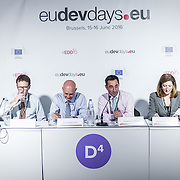 20160615 - Brussels , Belgium - 2016 June 15th - European Development Days - Spurring economic growth through private sector engagement - Jonathan Charles , Managing Director , Communications , EBRD - Moderator © European Union