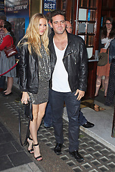 © Licensed to London News Pictures. 01/07/2013. London, UK. Stephanie Pratt & Spencer Matthews at the A Curious Night at the Theatre - Gala Evening. Photo credit: Brett D. Cove/LNP