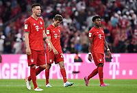 Fussball  1. Bundesliga  Saison 2019/2020  1. Spieltag  FC Bayern Muenchen - Hertha BSC Berlin       16.08.2019 Enttauschung FC Bayern Muenchen; Niklas Suele, Thomas Mueller und David Alaba (v.li.)