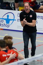 20181027 NED: Eredivisie, SV Land Taurus - Achterhoek Orion: Houten<br />Eric Gras, headcoach of SV Land Taurus<br />©2018-FotoHoogendoorn.nl / Pim Waslander