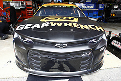 October 5, 2018 - Dover, Delaware, United States of America - Jamie McMurray (1) hangs out in the garage during practice for the Gander Outdoors 400 at Dover International Speedway in Dover, Delaware. (Credit Image: © Justin R. Noe Asp Inc/ASP via ZUMA Wire)