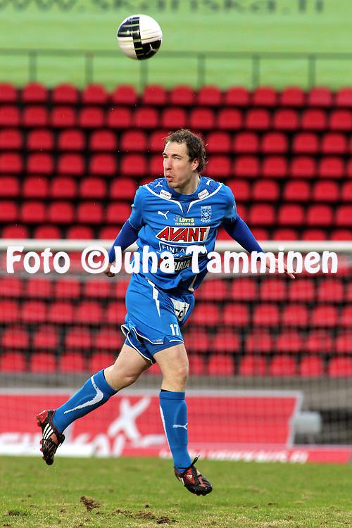 23.04.2010, Ratina, Tampere..Veikkausliiga 2010, Tampere United - JJK Jyv?skyl?..Vili Savolainen - TamU.©Juha Tamminen.