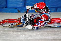 13.03.2016, Assen, BEL, FIM Eisspeedway Gladiators, Assen, im Bild Daniil Ivanov (RUS) // during the Astana Expo FIM Ice Speedway Gladiators World Championship in Assen, Belgium on 2016/03/13. EXPA Pictures &copy; 2016, PhotoCredit: EXPA/ Eibner-Pressefoto/ Stiefel<br /> <br /> *****ATTENTION - OUT of GER*****