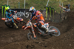 Jeffrey Herlings #84 of Nederland during MXGP Trentino race two, round 5 for MXGP Championship in Pietramurata, Italy on 16th of April, 2017 in Italy. Photo by Grega Valancic / Sportida