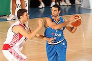 DESCRIZIONE : Bormio Torneo Internazionale Gianatti Finale Italia Croazia <br /> GIOCATORE : Matteo Soragna<br /> SQUADRA : Nazionale Italia Uomini <br /> EVENTO : Bormio Torneo Internazionale Gianatti <br /> GARA : Italia Croazia<br /> DATA : 04/08/2007 <br /> CATEGORIA : Palleggio<br /> SPORT : Pallacanestro <br /> AUTORE : Agenzia Ciamillo-Castoria/G.Cottini