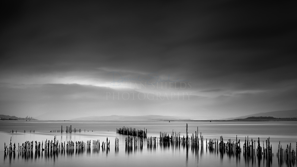 Timber Ponds were set up along the southern shore of the River Clyde in the early days of wooden shipbuilding, occupying the area between Port Glasgow and Langbank. The industry required vast quantities of thoroughly seasoned timber, and with shipyards occupying most of the shore line from central Greenock to eastern Port Glasgow, demand was prodigious.<br />