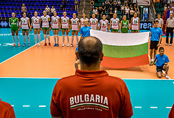 22-08-2017 NED: World Qualifications Slovenia - Bulgaria, Rotterdam<br /> Bulgaria win 3-1 against Slovenia / team Bulgaria<br /> Photo by Ronald Hoogendoorn / Sportida