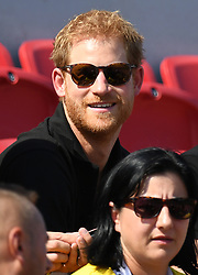 Prince Harry attends the Invictus Games Athletics at the York Lions Stadium, Toronto, Ontario, Canada, on the 24th September 2017. 24 Sep 2017 Pictured: Prince Harry attends the Invictus Games Athletics at the York Lions Stadium, Toronto, Ontario, Canada, on the 24th September 2017. . Photo credit: James Whatling / MEGA TheMegaAgency.com +1 888 505 6342