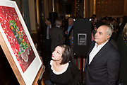 MARIA FATSIS; THEODORE FATSIS, TenTen. The Government Art Collection/Outset Annual Award. Champagne reception to announce the inaugural artist Hurvin Anderson and unveil his 2018 print. Locarno Suite, Foreign and Commonwealth Office. SW1. 2 October 2018