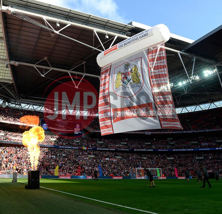 - Photo mandatory by-line: Joe Meredith/JMP - Mobile: 07966 386802 - 22/03/2015 - SPORT - Football - London - Wembley Stadium - Bristol City v Walsall - Johnstone Paint Trophy Final