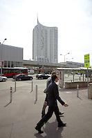 Hochhaus Neue Donau, Wien.Architektur: Harry Seidler