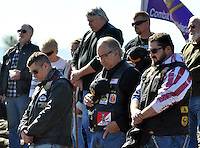 Paying tribute to the fallen during a Veterans Day ceremony on Wednesday at the Monterey County Vietnam Veterans Memorial in Salinas.