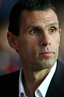 Football<br /> Coca Cola Football League One<br /> Southampton vs Brighton and Hove Albion at St Mary's Stadium<br /> Brighton and Hove Albion's new Manager Gus Poyet <br /> 15/11/2009<br /> Credit Colorsport / Shaun Boggust
